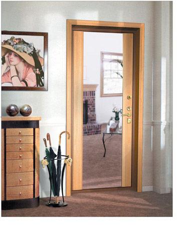 """Дверь """"Крепкий орешек"""" - отделка Grand Wilghelm"""