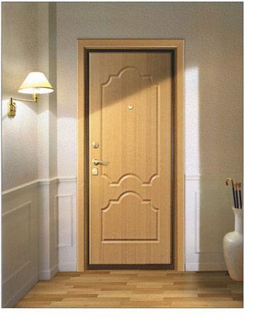 Дверь Крепкий орешек. Отделка PVC