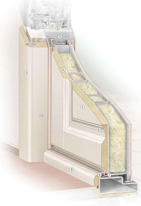Дверь Крепкий Орешек. Устройство портала и панели