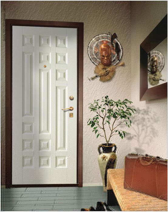 Дверь Крепкий Орешек - отделка Ультра (краска)