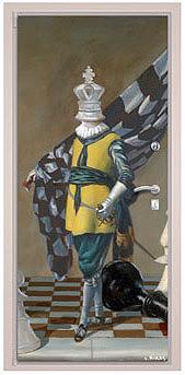 Из истории шахмат. Король идет